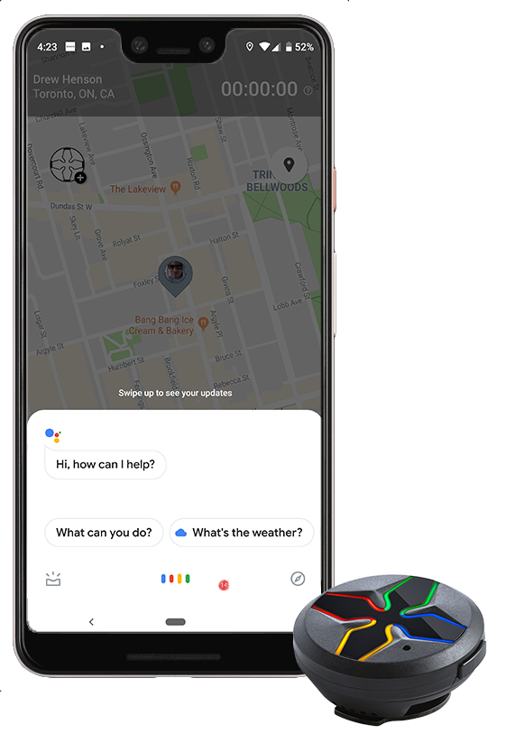 Available on the Google Assistant App, SEAM Voice allows yoo to use voice commands to stay up to date